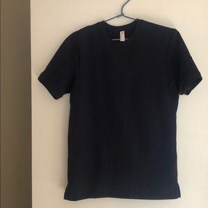 Short sleeve sweatshirt Navy Blue like new
